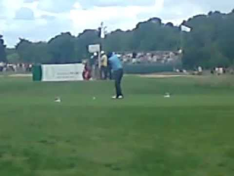 Samuel L Jackson chillin at he Smurfit Golf Invitational Limerick