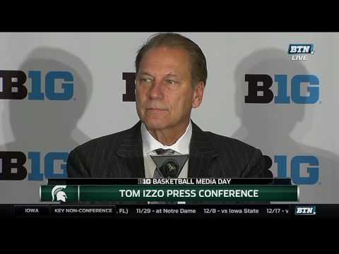 Tom Izzo 2016 Basketball Media Day Press Conference