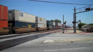 Railfanning La Mirada, Ca on 6/29/11 - BNSF, Amtrak, & Metrolink