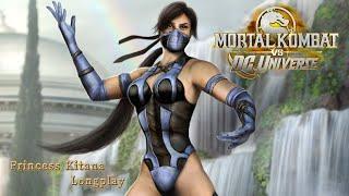 Mortal Kombat vs DC Universe [Xbox 360] - Arcade Mode - Kitana
