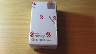 Samsung Galaxy Grand Prime Plus - Unboxing , Setup and First Look!