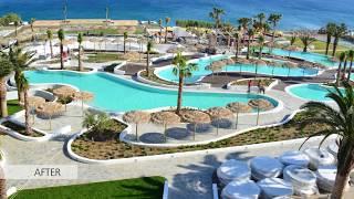 Mitsis Norida Beach Hotel | Pool Area Renovation