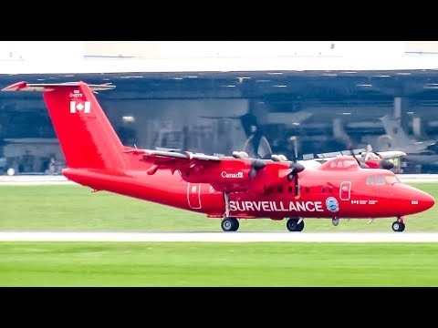 Transport Canada De Havilland Dash 7 (DHC7) landing in Ottawa (YOW/ CYOW)