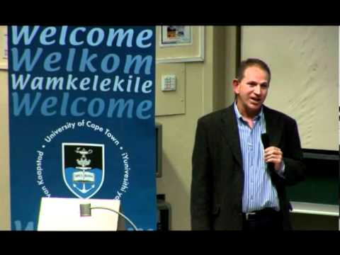 Andrew Bramley speaks on career transitions at the UCT Alumni Leadership Forum
