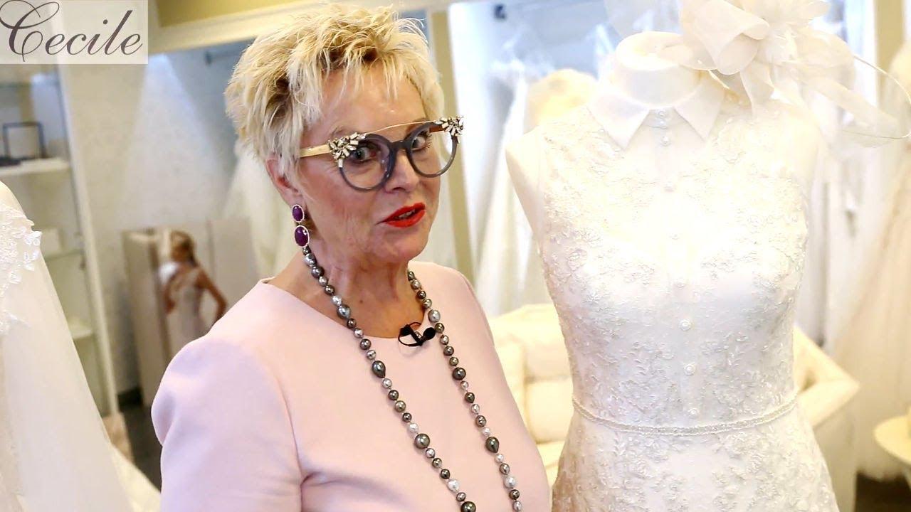 Traumhaft schlank & schön: Brautkleider mit Kragen, Cape und mehr ...