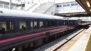 JR東日本485系お座敷列車「華」大船駅通過!※貨物線走行