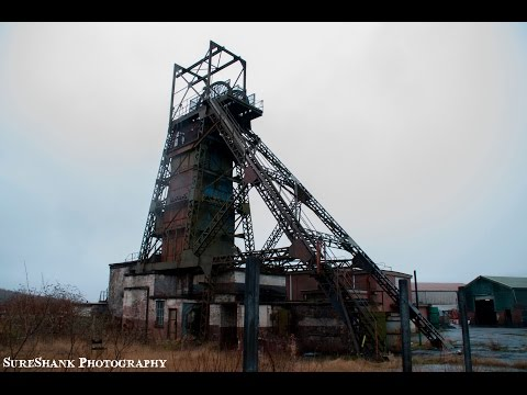 ABANDONED WELSH COLLIERY (COAL MINE) - URBAN EXPLORATION