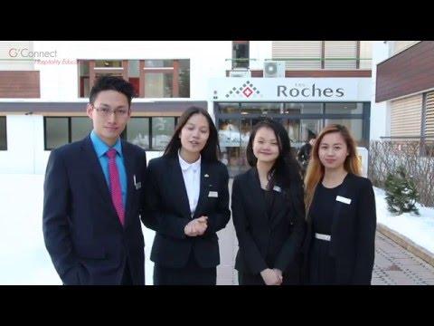 Du học sinh Việt Nam giới thiệu về Les Roches – Thụy Sỹ