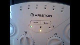видео Бойлеры газовые : Ariston EGIS 24 FF (TURBO)