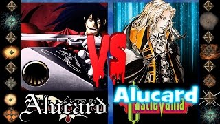 Alucard (Hellsing Ultimate) vs Alucard (Castlevania) - Ultimate Mugen Fight 2016