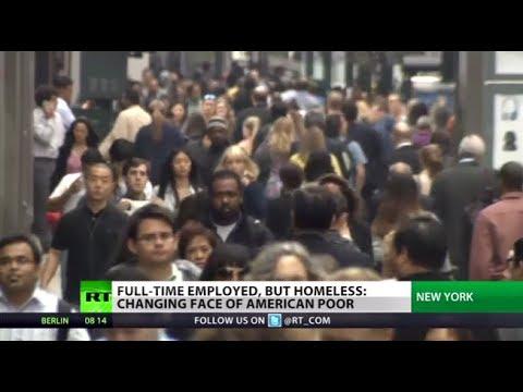 America's Working Destitute: Full-time jobs, yet homeless