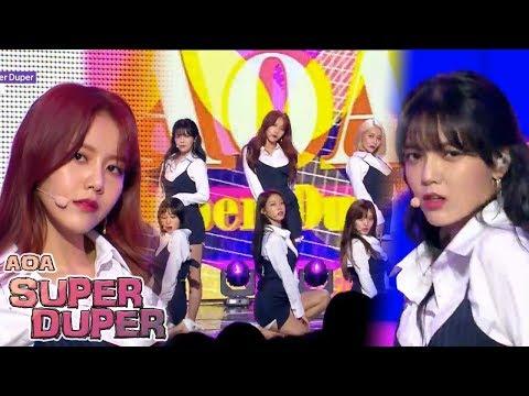 [Comeback Stage] AOA - Super Duper ,...