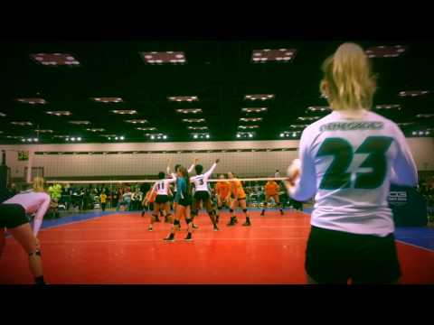 Madison Frusha - Middle Hitter - Nike Mideast Qualifier March 2017
