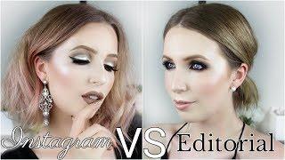 Instagram VS Editorial // 100 Years of Makeup For Fair Skin | 2010's