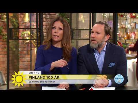 """""""Finland hade inte varit Finland utan Sverige"""" - Nyhetsmorgon (TV4)"""