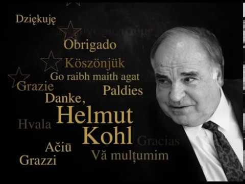 Helmut Kohl, a great European