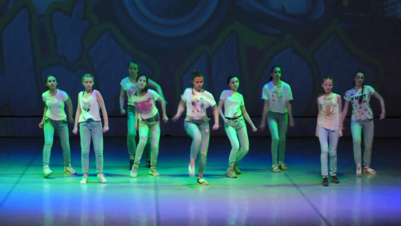 """Видео """"Отчетный  концерт 3 июня 2017 года в Концертном зале отеля Санкт-Петербург"""". Hip-Hop"""