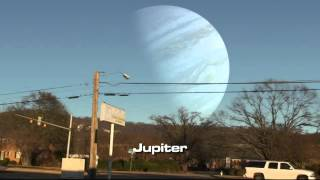 Ay yerine diğer gezegenler olsaydı nasıl görünürdü?
