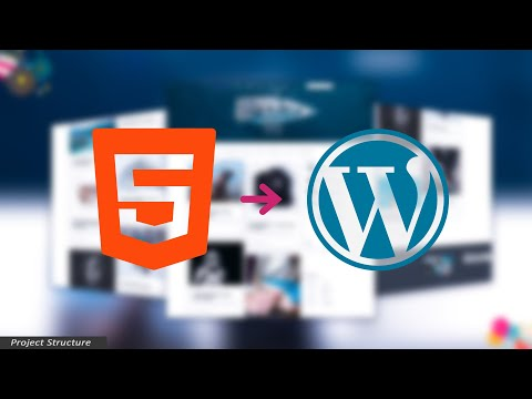 Convert HTML Website Into WordPress Theme -  28