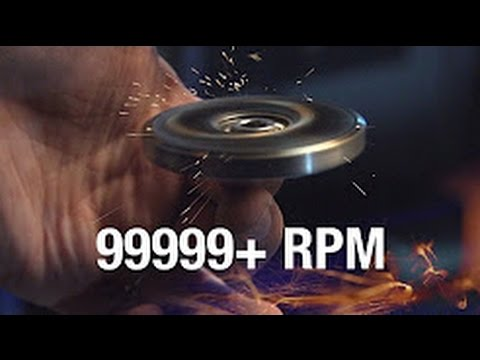 99999+ RPM Fidget Spinner Toy/ Cause I Can