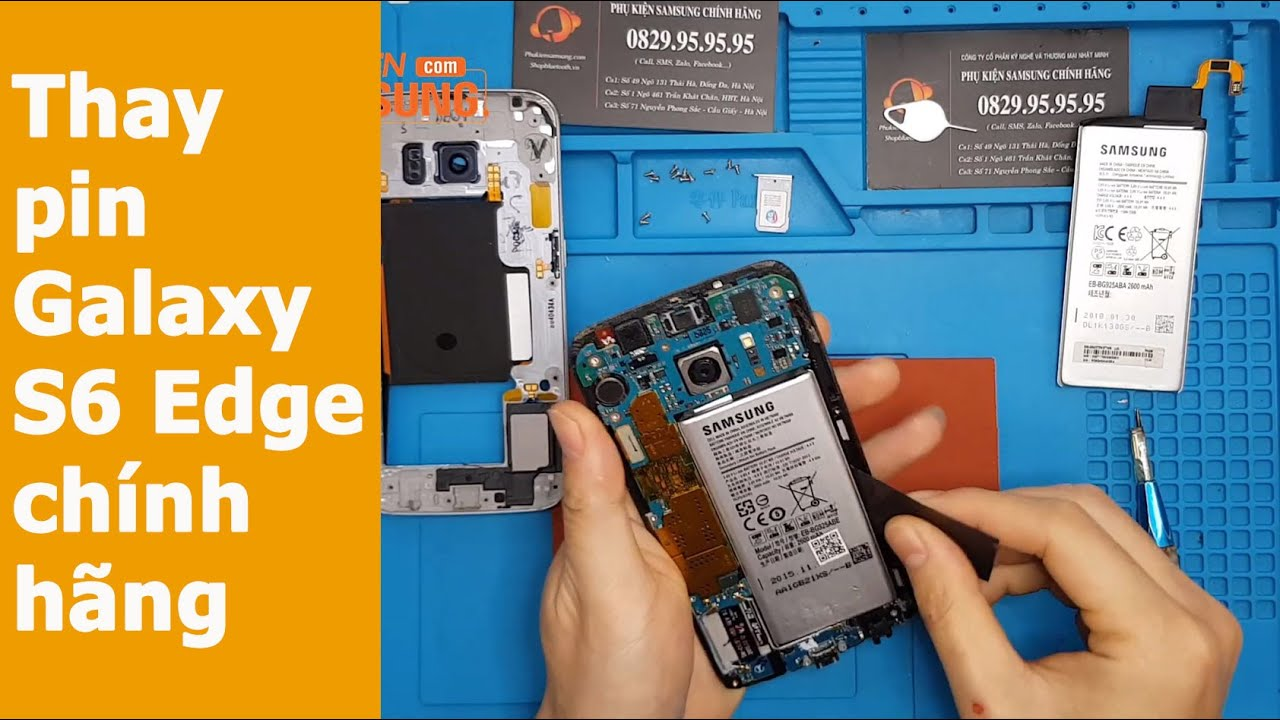 Hướng dẫn thay pin Samsung Galaxy S6 Edge trong 1 bản nhạc