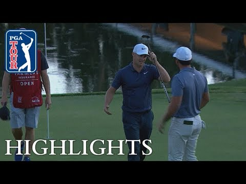 Best shots from all 5 playoff holes at the Farmers Insurance Open