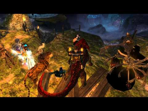 Guild Wars 2 : Lute playing pirates of the Caribbean
