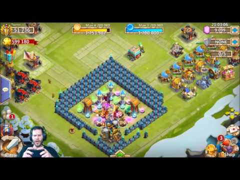 JT's Free 2 Play Opening Legendary Hero Cards + BazaaR Castle Clash