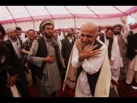 Ashraf Ghani a short message Afghan election 2009