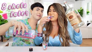 TRUTH OR DRINK with my BFF!! *this was embarrassing lol*