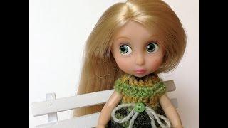 Disney Animators. Принцесса Рапунцель. Обзор мини куклы.