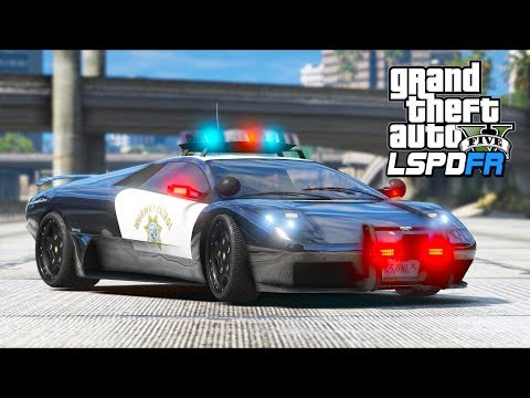 GTA 5 Mods - *NEW* Pegassi Infernus CHP Supercar!! (LSPDFR Gameplay)