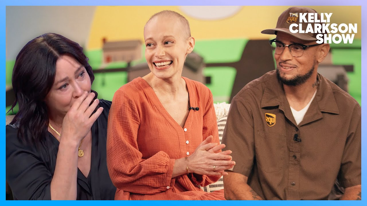 Cancer Survivors' Unlikely Friendship Brings Shannen Doherty To Tears