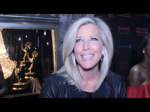 Daytime Emmy's Awards Nominee Reception Interview w/ Laura Wright