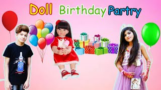 Doll ki birthday party  #Playhouse #fun #moonvines | MoonVines