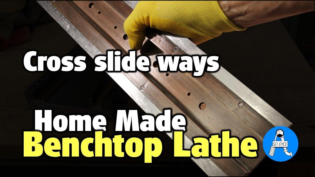 DIY metal lathe cross slide ways - part 8