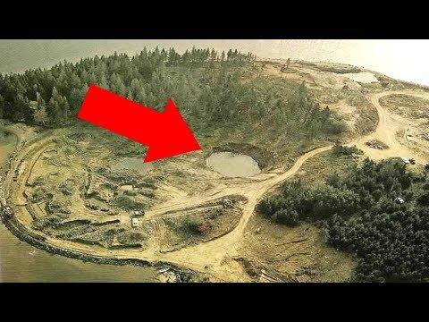 The Mystery Money Pit Treasure Of Oak Island