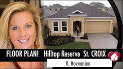New Homes Apopka Florida Hilltop Reserve St. Croix Near Winter Garden