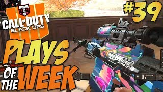 COD IS MONEY!! - Call of Duty Black Ops 4 PLAYS OF THE WEEK #39
