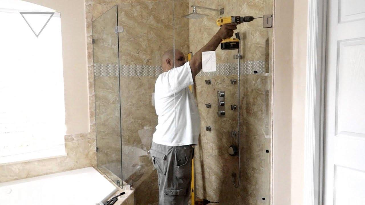 Vitralum Glass Solutions Neo Angle Shower Doors Orlando