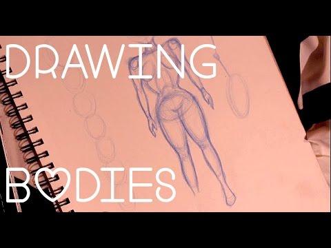 How to Draw Bodies | Female