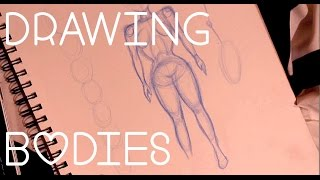 How to Draw Bodies | Female