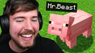Beating Minecraft As a Pig!
