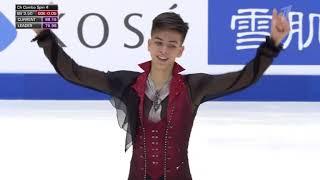 Пётр Гуменник бронзовый призёр юниорского чемпионата мира 2020 Произвольная программа