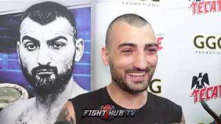 VANES MARTIROSYAN WANTS TO KICK GOLOVKIN'S ASS BECAUSE IT'S HIS WIFE'S FAV FIGHTER