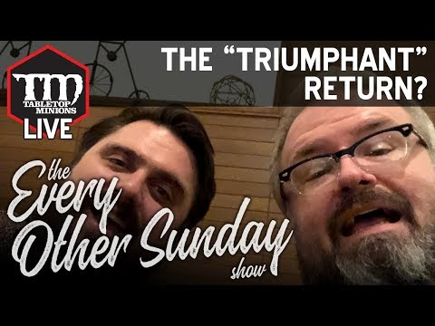 """The """"Triumphant"""" Return? - The Every Other Sunday Show"""