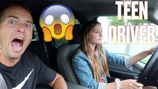 😱 FATHER LETS 15-YEAR-OLD DAUGHTER DRIVE HIS BRAND NEW TRUCK WITHOUT A LICENSE 🚘