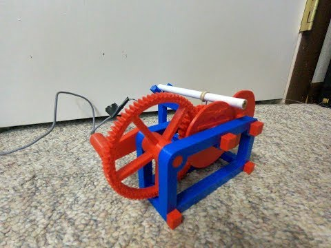 3D Printing Fridays!| Mechanical Laser Show!