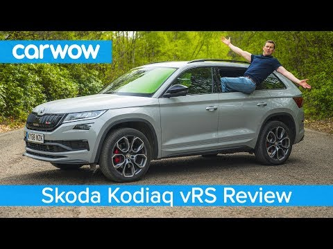 Skoda Kodiaq vRS SUV 2020 review – see how quick it is to 60mph and if it's worth £43k!