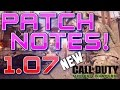 NEW MWR UPDATE! 1.07 PATCH NOTES in Modern Warfare Remastered! (CoD MWR 1.07 Update/Patch Notes)